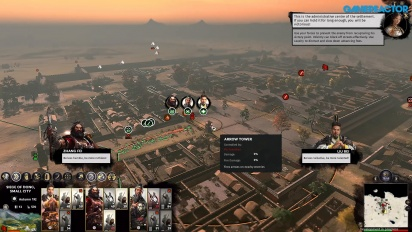 Total War: Three Kingdoms - Gameplay de asedio