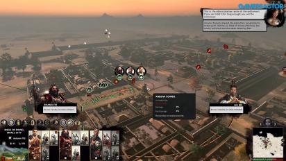 Total War: Three Kingdoms - Gameplay de asedio