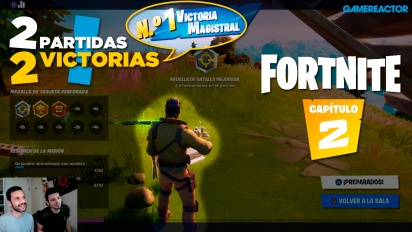 Fortnite Capítulo 2 - Replay del livestream español