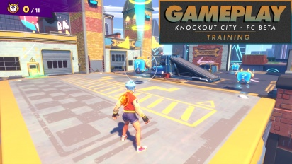 Knockout City - Entrenamiento
