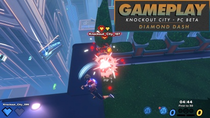 Knockout City - Gameplay en Diamond Dash