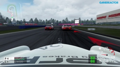 Project CARS - Gameplay PS4 con Mercedes-Benz 300 SEL 6.8 AMG Rote Sau