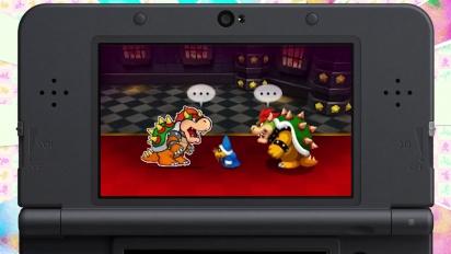 Mario & Luigi: Paper Jam Bros. - Tráiler español de Nintendo Direct