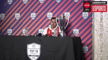 FUT Champions Cup Manchester - Ruenda de prensa de  Falcon Msdosary