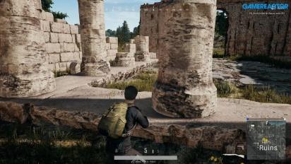 PlayerUnknown's Battlegrounds - Gameplay en Ruinas de Erangel