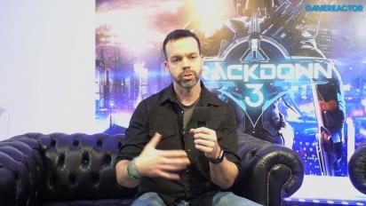 Crackdown 3 - Entrevista a Dave Johnson