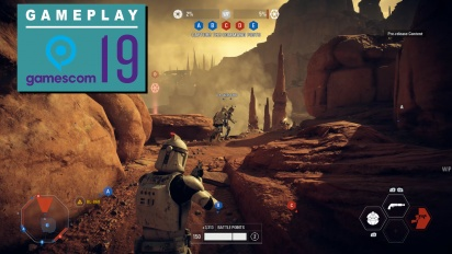 Star Wars: Battlefront II - Gameplay Acción Instantánea en Geonosis