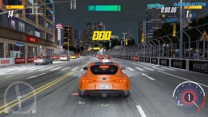Project Cars 3 - Gameplay del Toyota Supra GR en Shanghai Henan Loop