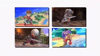 Super Smash Bros. Ultimate: Mii Fighter Costumes #10 - Trailer