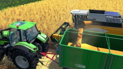 Farming Simulator 15 - Multiplayer Gameplay PS4 and Xbox One