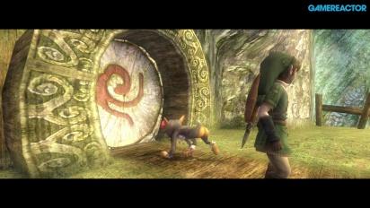 The Legend of Zelda: Twilight Princess HD - Gameplay Técnica Secreta y Templo del Bosque