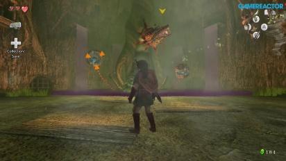 The Legend of Zelda: Twilight Princess HD - Gameplay Batalla con el jefe Babalant