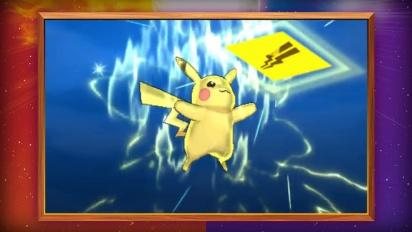 Pokémon Sol/Luna - Tráiler español: movimiento Z de Pikachu y de Eevee