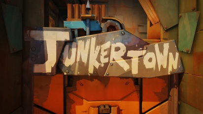 Overwatch - New Escort Map Junkertown