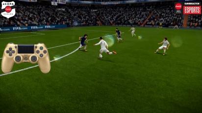 FIFA 18 - eCopa Tournament - Tercer truco: Tacón-tacón