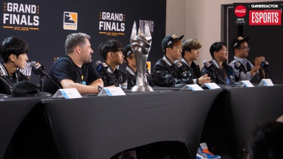 Overwatch League Finals - London Spitfire Finals Press Conference