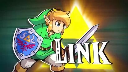 Cadence of Hyrule: Crypt of the NecroDancer Featuring The Legend of Zelda - Tráiler de presentación en español