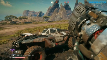 Rage 2 - Gameplay en PC, primeros 30 minutos