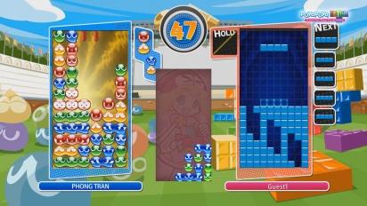 Puyo Puyo Tetris - Tutorial de coleo
