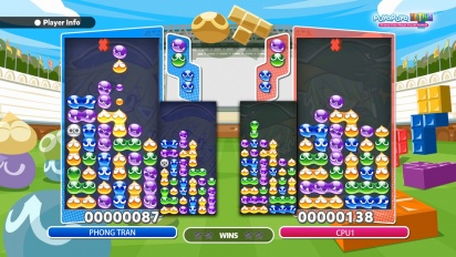 Puyo Puyo Tetris - Tutorial de acoso