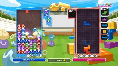 Puyo Puyo Tetris - Tutorial de GTR