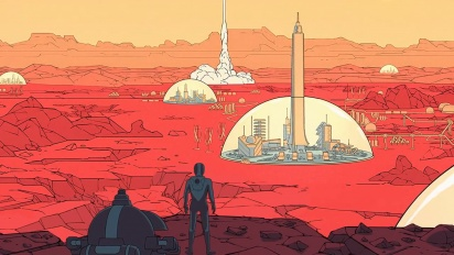 Surviving Mars - Domes 'Living on Mars' Trailer
