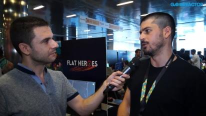 Flat Heroes - Entrevista a Lucas González