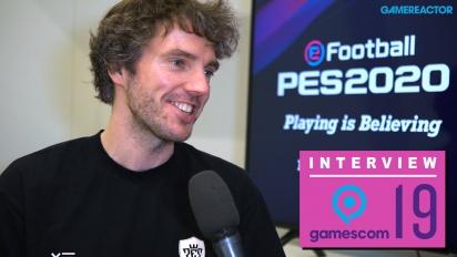 eFootball PES 2020 - Entrevista a Lennart Bobzien en Gamescom 2019