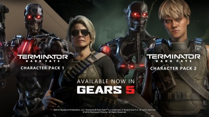 Gears 5 - Terminator Dark Fate Character Packs Trailer