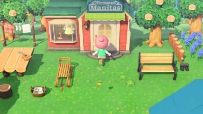 Animal Crossing: New Horizons - Tráiler español ¡Vuestra isla, vuestra vida!