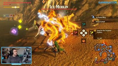 2 horas de Hyrule Warriors: La Era del Cataclismo: El Monje Makkosh y más