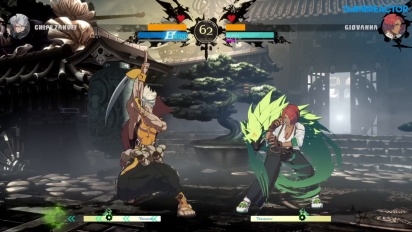 Guilty Gear: Strive - Chipp Zanuff vs. Giovanna (Gameplay de la Beta Abierta)