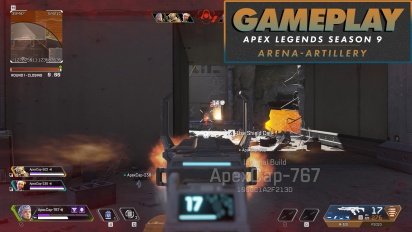 Apex Legends Temporada 9 - Gameplay Arenas Mapa Artillería