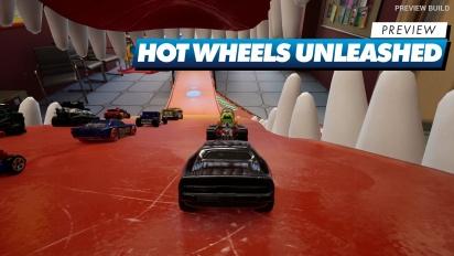 Hot Wheels Unleashed - Preview en vídeo