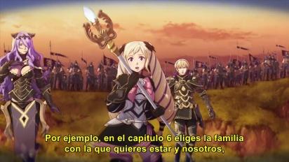 Fire Emblem Fates: Conquista - Tráiler español Historia de dos Familias