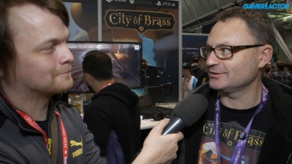 City of Brass - Entrevista a Andrew James