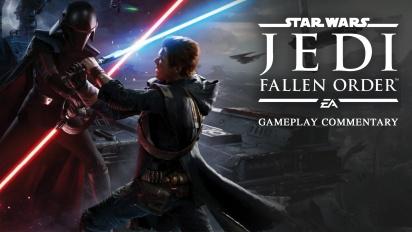 Star Wars Jedi: Fallen Order - Gameplay con Comentarios