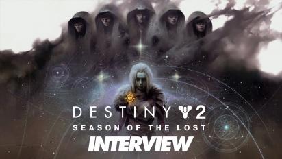 Destiny 2: Temporada de los Perdidos - Entrevista con Robbie Stevens y Nikko Stevens