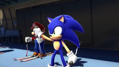 Mario & Sonic at the Sochi 2014 Olympic Winter Games - Wii U Trailer