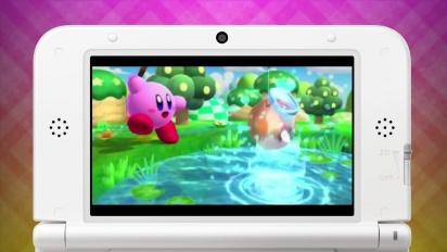 Kirby: Triple Deluxe - tráiler Presentación de Kirby