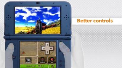 Monster Hunter 4 Ultimate - On the new Nintendo 3DS - Trailer