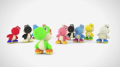 Yoshi's Woolly World - Tráiler de los patrones de Yoshi