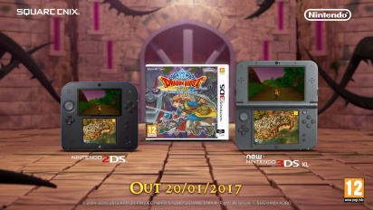 Dragon Quest VIII: Journey of the Cursed King - Story Trailer