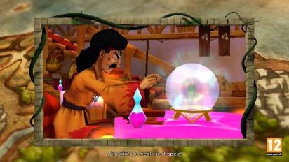 Dragon Quest VIII: El Periplo del Rey Maldito - Tráiler de la historia en español