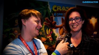 Crash Bandicoot: Nsane Trilogy - Entrevista a Kara Massie