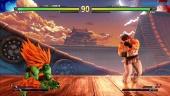 Street Fighter V - Gameplay modo Arcade Blanka vs Ryu
