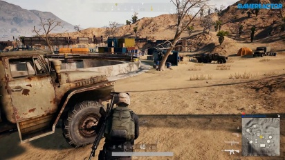 PlayerUnknown's Battlegrounds - Gameplay Miramar 6º Superviviente