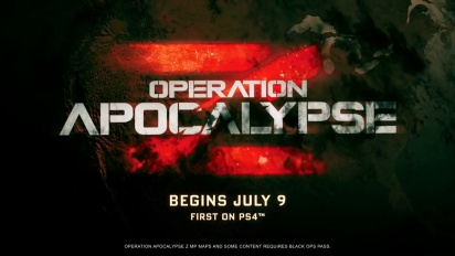 Call of Duty: Black Ops 4 - Operation Apocalypse Z Trailer