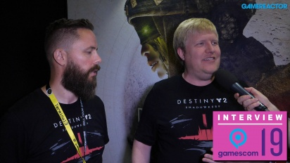 Destiny 2 - Scott Taylor and Örvar Halldórsson Interview