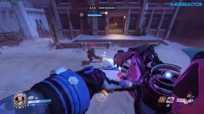 Overwatch - Gameplay de Hollywood Halloween